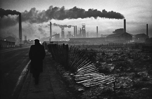 Early Morning, West Hartlepool 1963, by Don McCullin